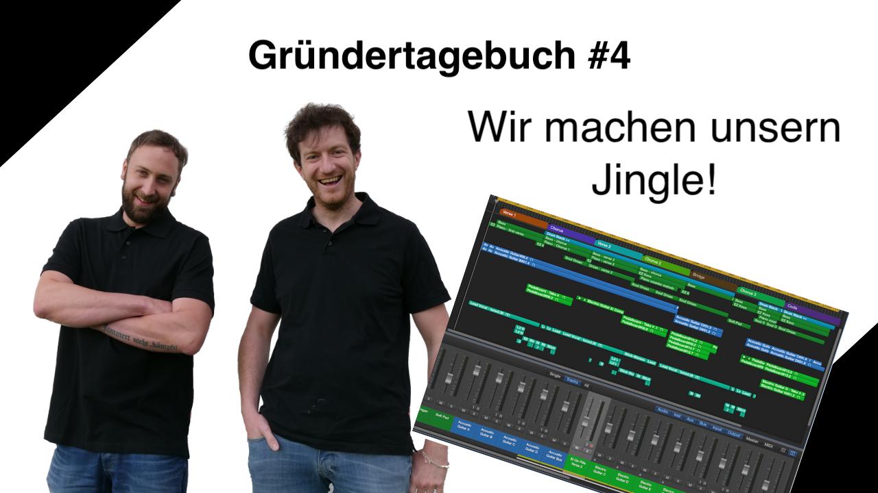 Daniel von Bondi macht den Jingle für unseren YouTube-Kanal