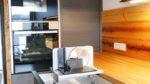 Küche mit Allesschneider/ Brotschneidemaschine in Schublade - Holzquadrat OHG