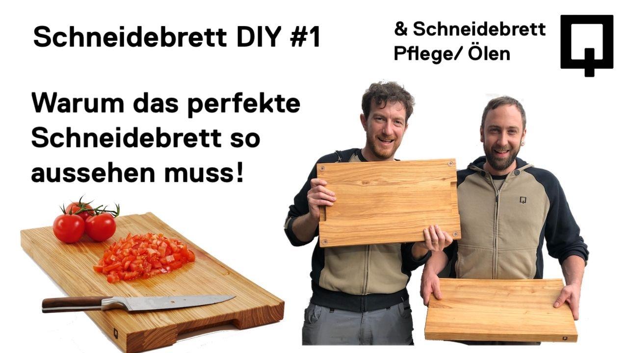 Schneidebrett Geschichte - Holzquadrat OHG