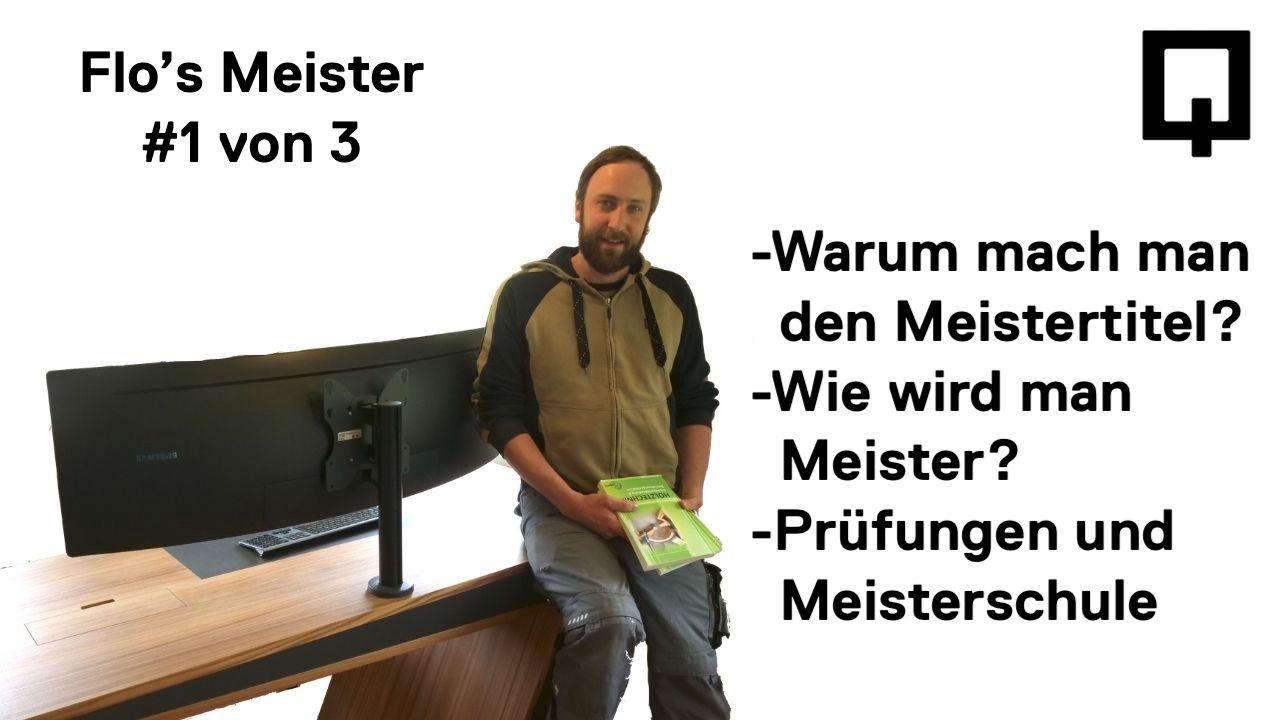 Meistertitel Handwerk Schreiner - Holzquadrat OHG