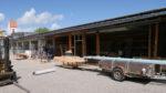Umbau Werkstatt, Schreinerei, Tischlerei Gebäude außen- Holzquadrat OHG