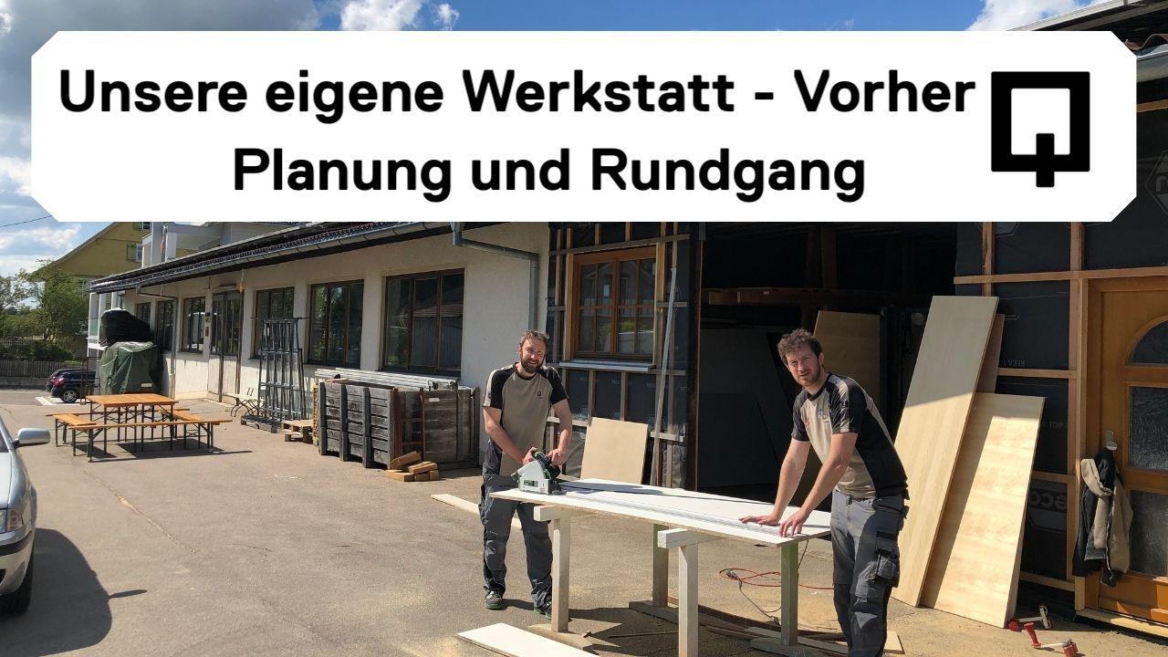 Werkstatt Umbau Vorher - Holzquadrat OHG